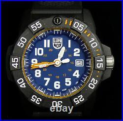 Luminox Men's 3503. NSF Quartz Navy Seal Dive Watch XS. 3503 WithHard Case