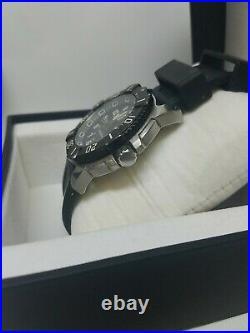 Luminox Men's Black Watch Swiss Made. 200 meter US Navy Seals and Air Force