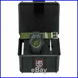 Luminox Men's Green Dial Black Rubber Band Navy Seal Watch XS. 3517. NQ