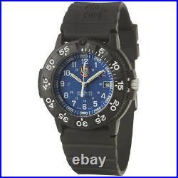Luminox Men's Navy SEAL Watch Blue Dial Black Strap 3003 Authorized Dealer
