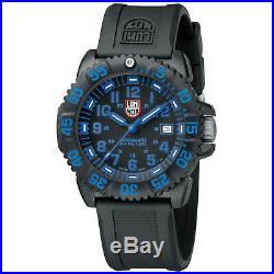 Luminox Men's Watch Navy Seal Colormark Quartz Dive Black Rubber Strap 3053