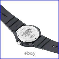 Luminox Men's Watch Set Sea Navy Seal Black Dial Rubber Strap 3001. EVO