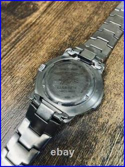 Luminox Men's Watch series 3600 titanium navy dial wristwatch