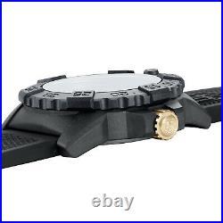 Luminox Mens Diver's Watch Navy Seal Black/Gold XS. 3508. GOLD