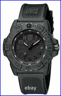 Luminox Navy SEAL 3500 Series Blackout Men's Watch XS. 3501. BO