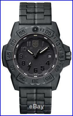 Luminox Navy SEAL 3500 Series Blackout Men's Watch XS. 3502. BO RRP £395