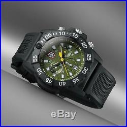 Luminox Navy SEAL Chronograph 3580 Series Green Dial Men's Watch XS. 3597