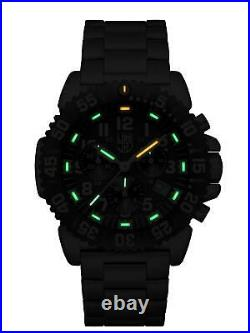 Luminox Navy SEAL Colormark Chrono 3180Series Stainless Steel Mens Watch XS. 3182