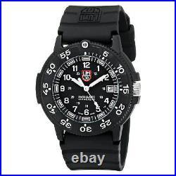 Luminox Navy SEAL Dive Men's Watch Rotating Bezel Black Dial Rubber Strap 3001