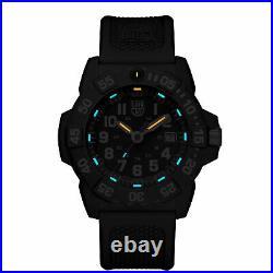 Luminox Navy SEAL Quartz Black Dial Rubber Strap Men's Watch XS. 3501 RRP £349