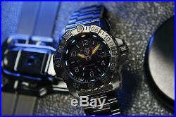 Luminox Navy SEAL Steel 3250 Series Blackout Mens Watch XS. 3252. BO £639