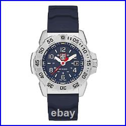 Luminox Navy SEAL Steel Blue Rubber Strap Mens Watch XS. 3253