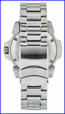 Luminox Navy Seal 3250 Stainless Steel White Dial Men's Diver Watch XS. 3258
