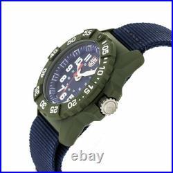 Luminox Navy Seal 3500 Series Canvass Band Blue Men's Watch XS. 3503. ND