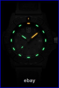 Luminox Navy Seal 3508 Gold Holiday Edition Carbonox 45mm Rubber Men's Watch