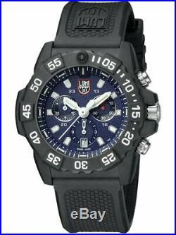 Luminox Navy Seal 3580 Series 45mm Chronograph Blue Dial Men's Watch XS. 3583