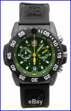 Luminox Navy Seal 3580 Series 45mm Chronograph Green Dial Men's Watch XS. 3597
