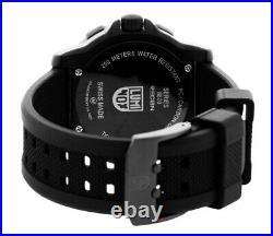 Luminox Navy Seal 43mm Black Dial Rubber Strap Men's Watch XS. 3001. F