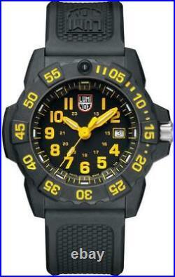 Luminox Navy Seal Black Dial Black Rubber Strap XS. 3505. L Men's Watch