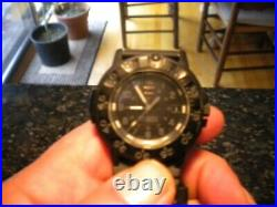 Luminox Navy Seal Blackout Edition 3001 R A R E with case