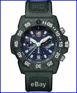 Luminox Navy Seal Chrono CARBONOX Blue Dial Rubber Band Men's Watch XS. 3583