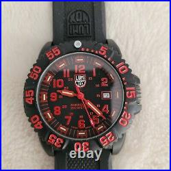 Luminox- Navy Seal- Color Mark 3050/3950 Red, Slightly Used, Perfect Condition