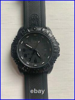 Luminox Navy Seal Colormark 3051 PU Black / Black-Black 44 mm