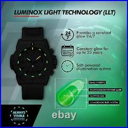 Luminox Navy Seal Mens Watch Chronograph Black (3581. EY / 3580 Series) 200