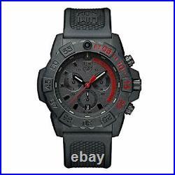 Luminox Navy Seal Mens Watch Chronograph Black (3581. EY / 3580 Series) 200 Mete
