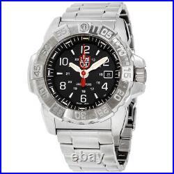 Luminox Navy Seal Steel 3250 Quartz Movement Black Dial Men's Watch XS. 3252