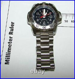 Luminox Navy Seal Steel 3250 SERIES Men's Watch Black Dial MODEL 3252