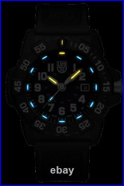 Luminox Navy Seal XS. 3503. NSF Blue Dial Black Carbonox Swiss Quartz Men's Watch