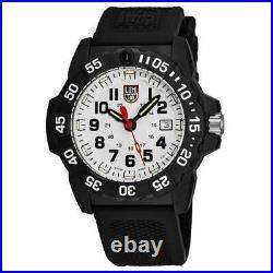 Luminox Navy Seal XS. 3507 White Dial Black Carbonox Swiss Quartz Men's Watch