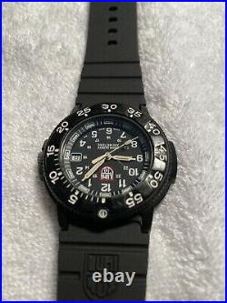 Luminox Navy Seals 3000, 3001, Carbon Case, 200 meter, NEW band, tan hands