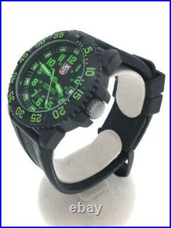 Luminox Navy Seals 3050/3950 Series Black Green Watch with Case from Japan