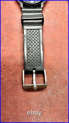 Luminox Navy Seals Black Dial 200M Watch Tritium (3H MBM) Luminous 43mm
