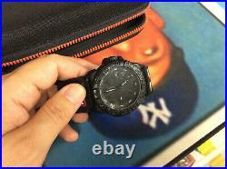 Luminox Navy Seals Black Watch 3050/3950 Series Velco Strap Used See Pics
