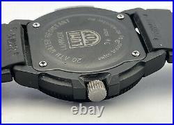 Luminox Navy Seals Blue Dial 200M 43mm Tritium (3H MBM) Luminous JUST SERVICED