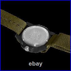 Luminox Navy Seals XS. 3617. SET Green Dial Sapphire Crystal Nylon 200M Mens Watch