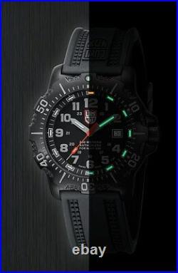 Luminox Original 4221 Anu Navy Seal Black Stainless Steel Night Vision 200m Dive