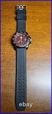 Luminox Sea Navy Seal Colormark 3050/3950 Men's Red Watch