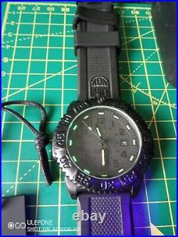 Luminox Sea Navy Seal Colormark Quartz Watch, Swiss Made, 200 Meters, PC Carbon