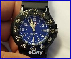 Luminox Series 3000/3900 Navy Seal Blue Dial 3003 Men's Quartz Watch