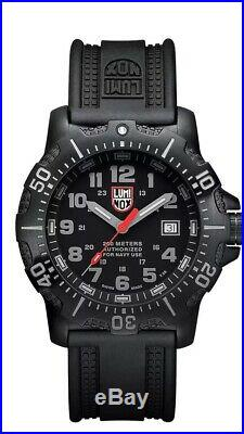Luminox Series 4220 4221 2019 ANU American Navy Seal watch with Rubber Strap