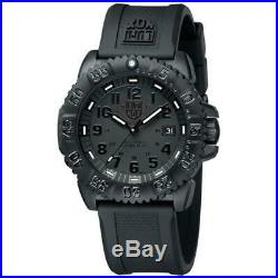 Luminox Watch Navy Seal Men's Swiss Colormark Blackout 3051. BO AUTHORIZED DEALER
