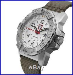 Luminox XS. 3257 Navy Seal Steel Green Canvass Strap 45mm Men's Watch