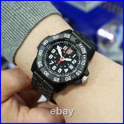 Luminox XS. 3502 Men's Navy Seal Trident Carbon Compound 45mm Men's Watch