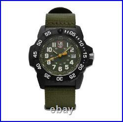 Luminox XS. 3517 Navy Seal Steel Green Canvass Strap 45mm Men's Watch