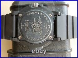 Luminox navy seal watch 3000 V3 excellent preowned condition withcase