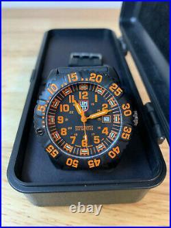 Luminox series 3050 Colormark Navy Seals Watch